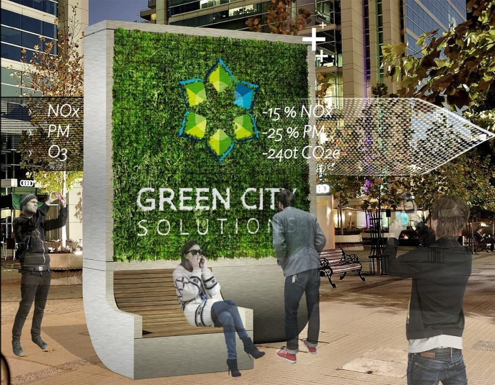 L'albero IOT contro l'inquinamento ecco City Tree