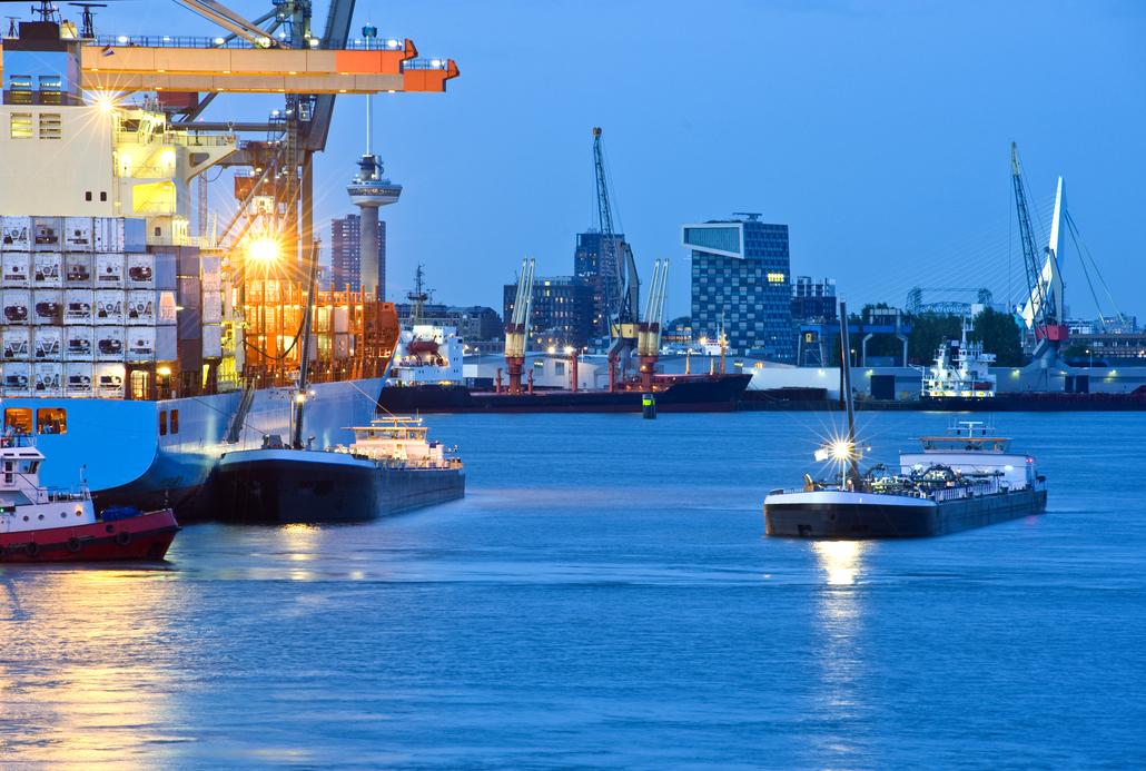 Porti ipertecnologici il futuro di Rotterdam