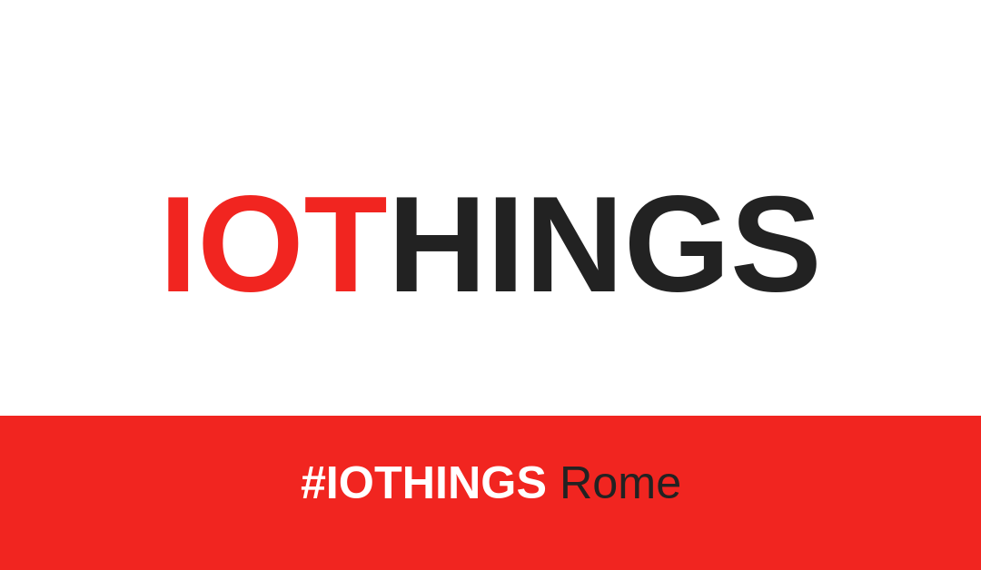 TIOT a Roma per IOTHINGS